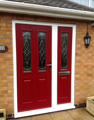 Composite Doors with Side Panels from JR Windows Mansfield