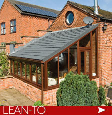 Lean To Conservatories with solid warm roof