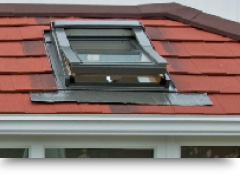 Solid conservatory roof windows