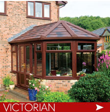 Victorian Conservatories with solid warm roof